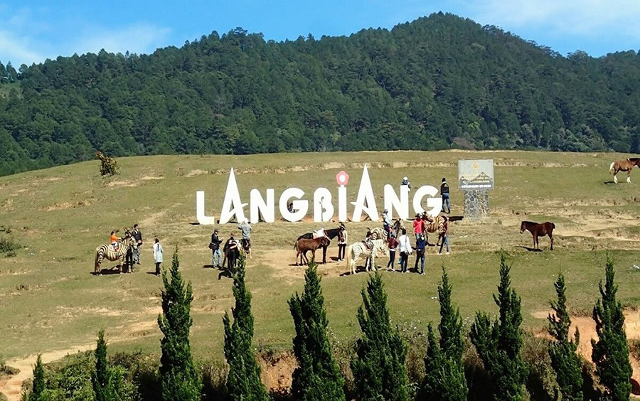 langbiang-moutain