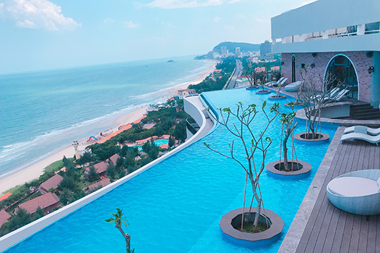 The list of top 5 hotels in Vung Tau for tourists